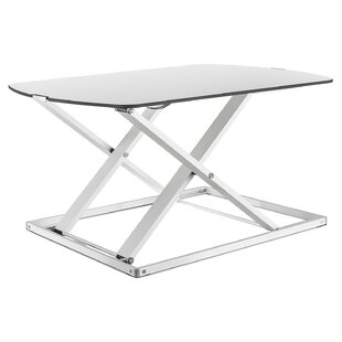 Keiser Height Adjustable Standing Desk Converter by Symple Stuff Savings