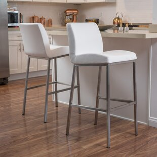 Lotie 30 Bar Stool (Set of 2) Latitude Run