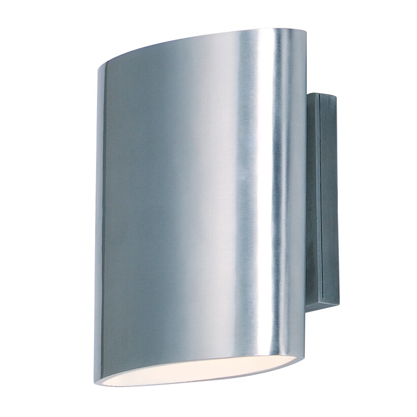 Armed Sconce Silver Outdoor Wall Lighting You Ll Love In 2021 Wayfair