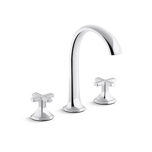Kallista Script Widespread Bathroom Faucet with Drain Assembly
