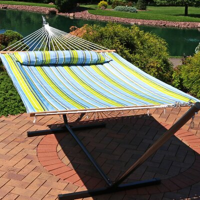 Antoine Double Spreader Bar Hammock by Freeport Park Savings