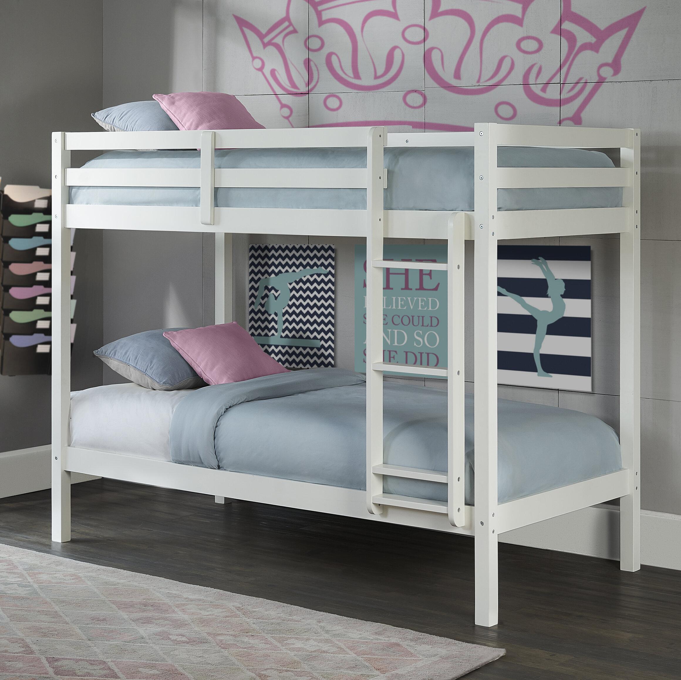 Birch Lane™ Binne Twin Over Twin Bunk Bed & Reviews | Wayfair