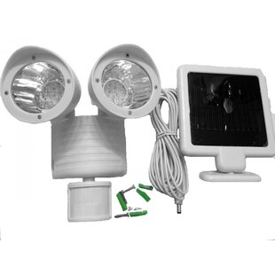 Creative Motion LED Solar Powered/ Battery Powered Outdoor Security Spot Light with Motion Sensor