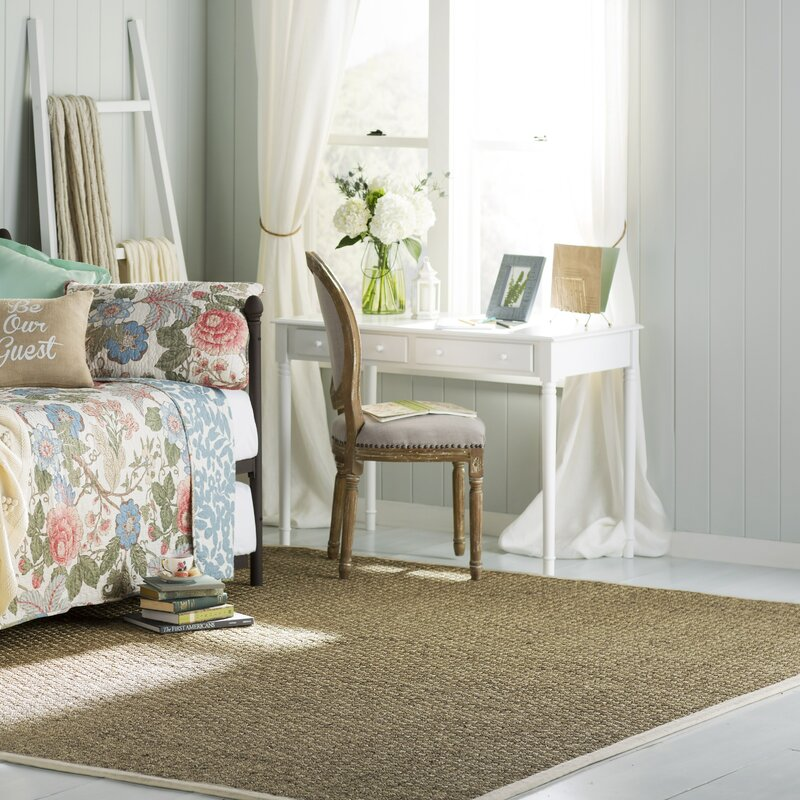 Alcott Hill Catherine Natural/Ivory Area Rug & Reviews | Wayfair