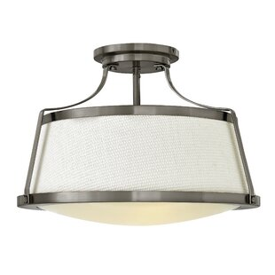 Hinkley Lighting Charlotte 3-Light Semi Flush Mount