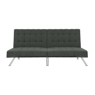 Crandon Velvet Convertible Sofa