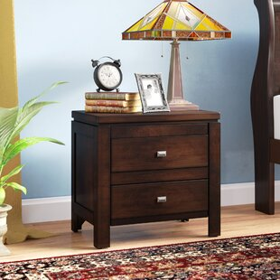 Bargain Quentin 2 Drawer Nightstand By Andover Mills