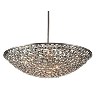 Wallula 10-Light Bowl Pendant by CWI Lighting