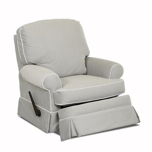 Bingham Swivel Glider Recliner with Contrasting Welt