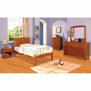 Riesel Panel 4 Piece Bedroom Set by Harriet Bee
