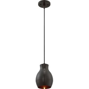 Wrought Studio Bracondale 1-Light LED Bell Pendant