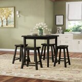 Porterdale 5 Piece Counter Height Dining Set by Winston Porter
