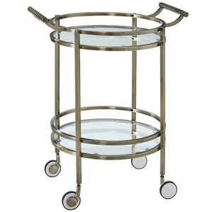 Round Bar Cart by Powell Furniture