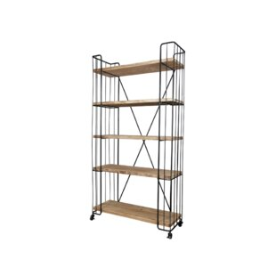 Read Reviews Lillie Etagere Bookcase by 17 Stories