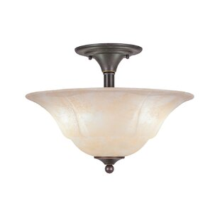 Sousa 2-Light Semi Flush Mount..