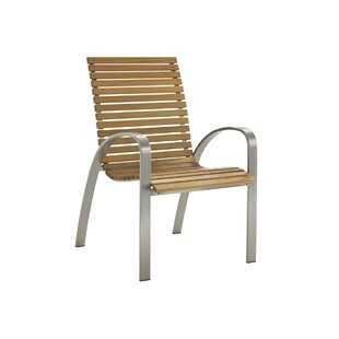 Tres Chic Stacking Patio Dining Chair