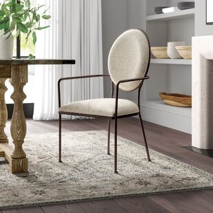 Cairo Oval Back Upholstered Dining Chair Greyleigh