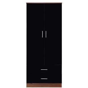 Eva Combination 2 Door Wardrobe By Zipcode Design