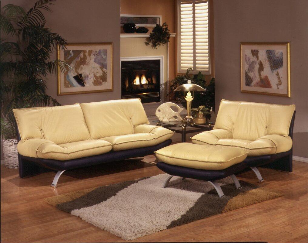 Princeton Leather Configurable Living Room Set