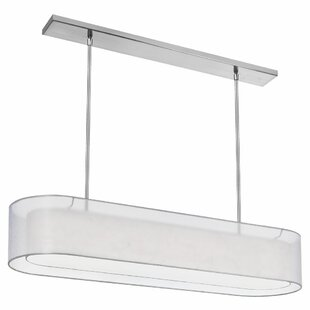 Dionysus 4-Light Oval Shade Kitchen Island Pendant by Orren Ellis