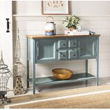 """Sadie 45.7"""" Solid Wood Console Table"""