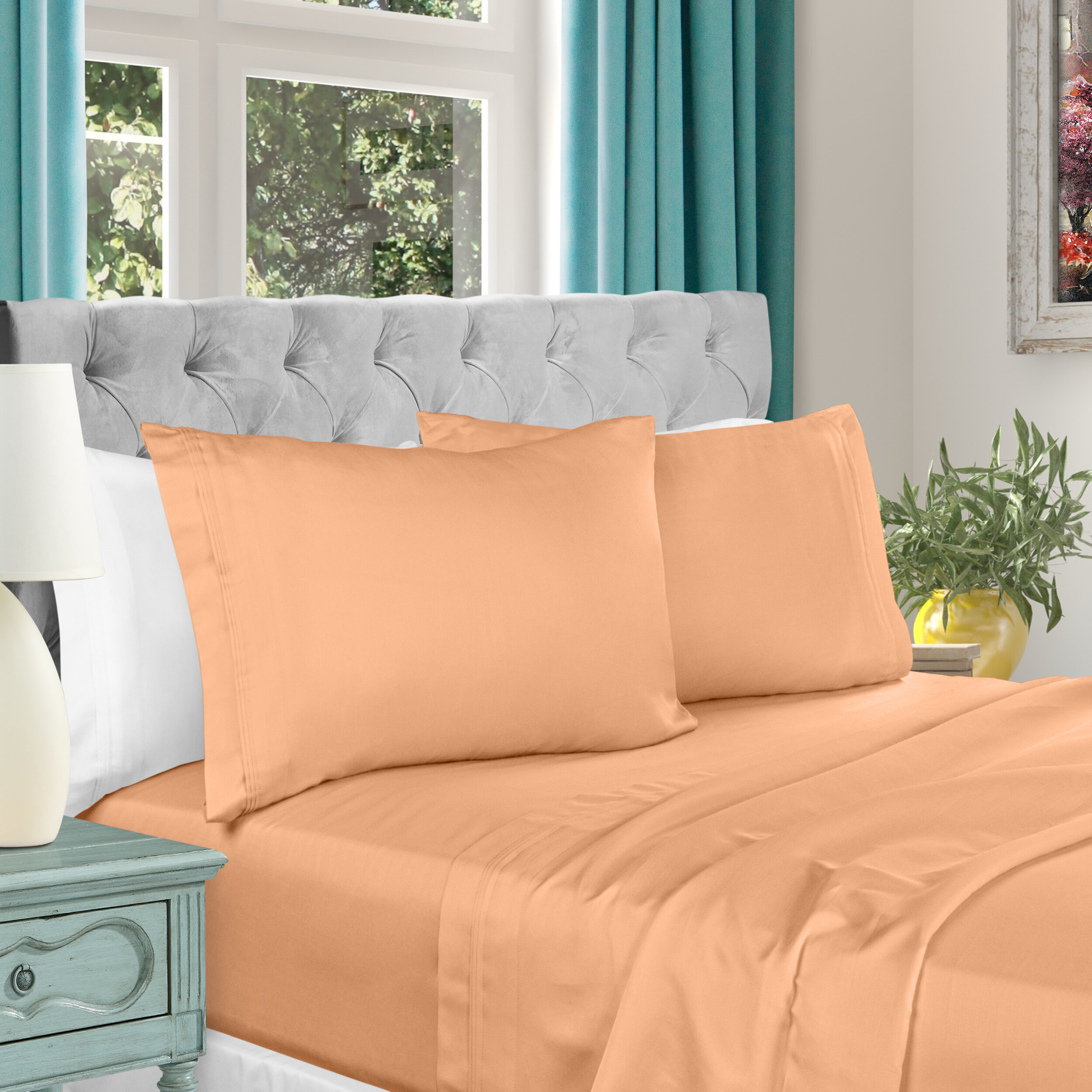 Queen White Sheets Pillowcases You Ll Love In 2021 Wayfair