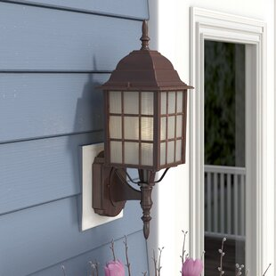Charlton Home Sorrells Outdoor Sconce
