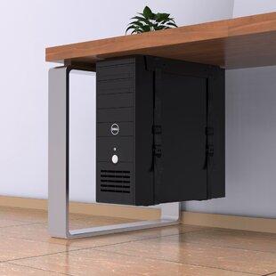 PC CPU Strap 36 Cm X 4.5 Cm Desk Privacy Panel By Symple Stuff