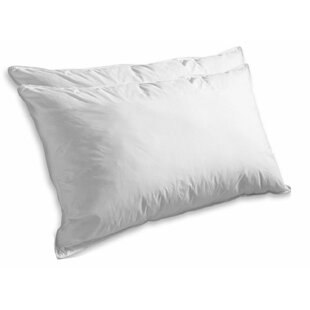 Super Soft Luxurious Goose Feathers Pillow (Set of 2) by ELEGANT COMFORT