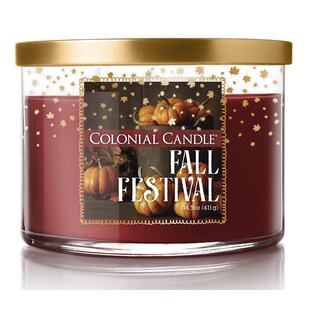 Fall Festival Scented Jar Candle