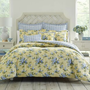 Cassidy Cotton Reversible Comforter Set by Laura Ashley Home By Laura Ashley