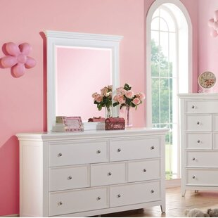 Didmarton 7 Drawer Dresser with Mirror