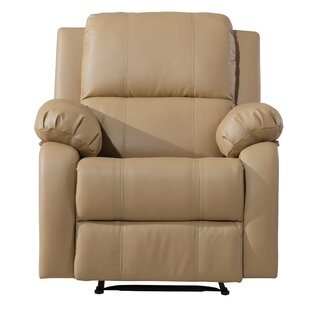 Henry Manual Recliner Red Barrel Studio