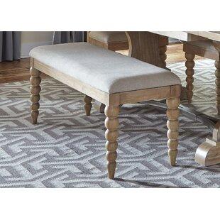 Reviews Bleau Upholstered Bench ByLark Manor