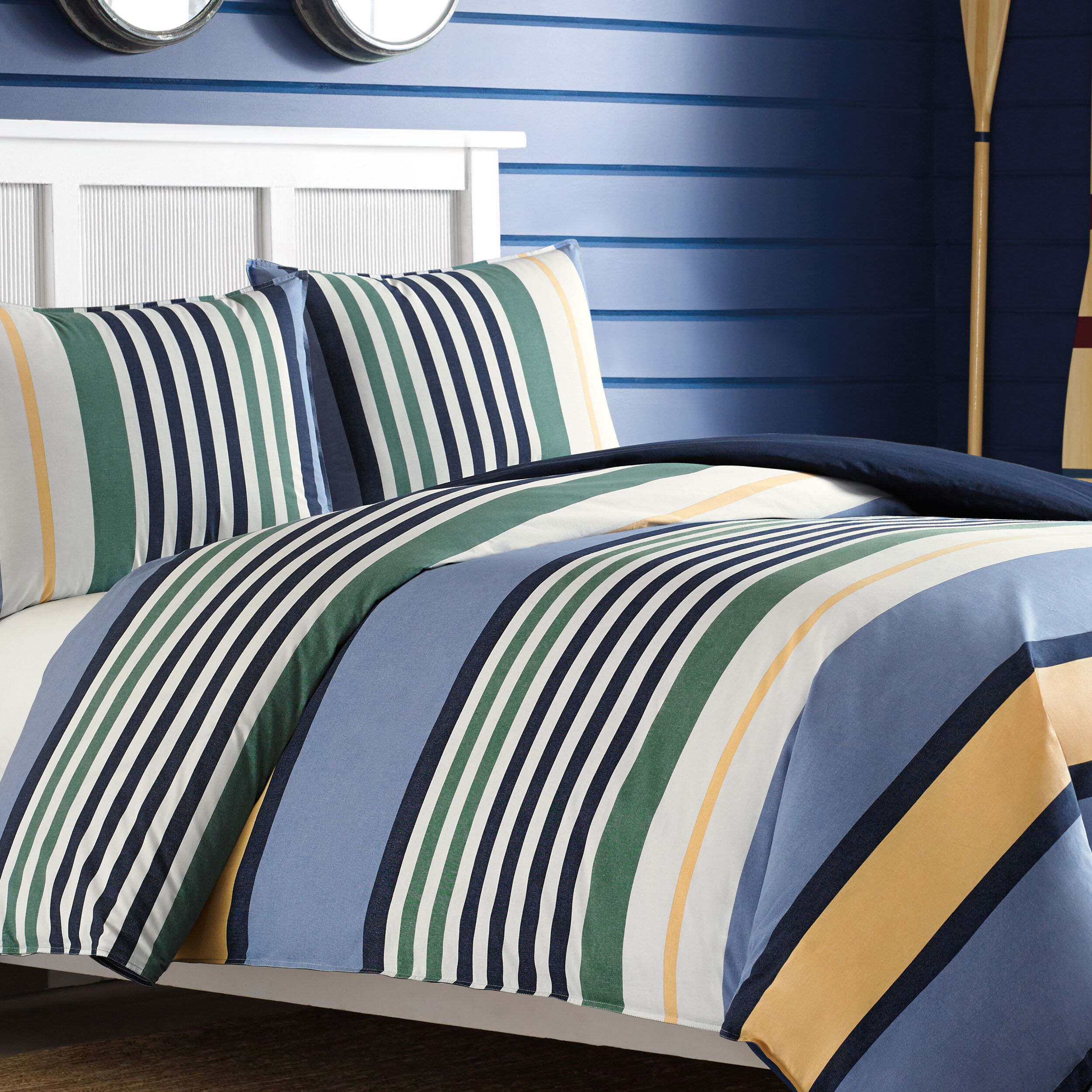 Nautica Dover 100 Cotton Comforter Set Reviews Wayfair Ca