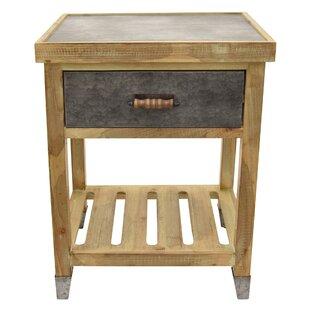 Loon Peak Palethorp Wood End Table