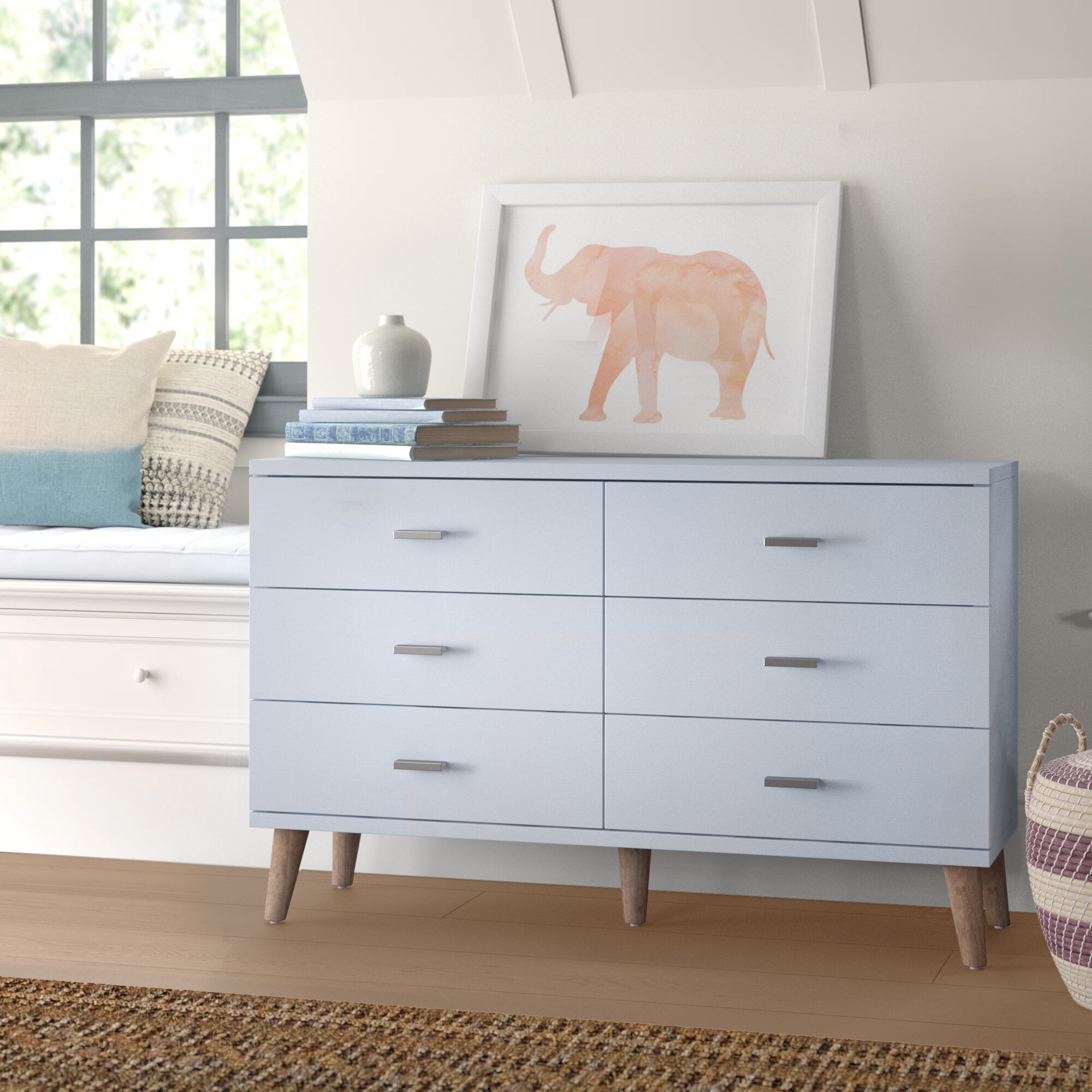 Baby Kids Wallingford 6 Drawer Double