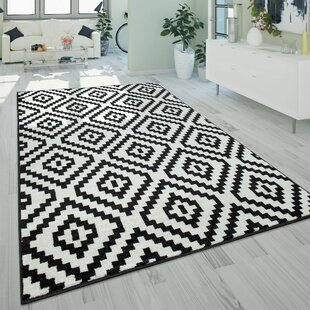 Black And White Round Rug Wayfair Co Uk