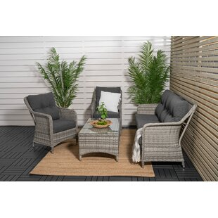Compare Price Adhelin 5 Seater Rattan Sofa Set