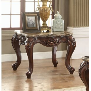 Rossville High End Luxurious End Table