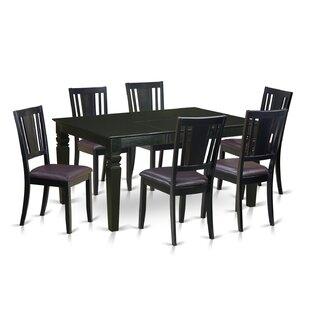 Weston 7 Piece Dining Set by Wooden Impor..