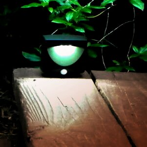 Maxsa Innovations Battery-Powered Motion-Activated Indoor/Outdoor Night Light
