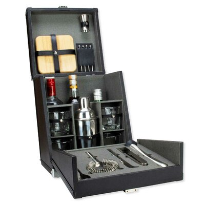 Leighty 17 Piece Portable Mini Bar Tools by Charlton Home Coupon