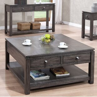 Woodville 3 Piece Coffee Table Set