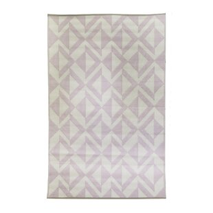 Premier Home Hand-Woven Blush/White Indoor/Outdoor Area Rug