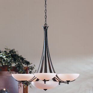 Aegis 7-Light Shaded Chandelier by Hubbardton Forge