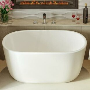 japanese soaking tub for small bathroom. Lullaby Nano 51 25  X 27 5 Freestanding Soaking Bathtub Small Japanese Tub Wayfair