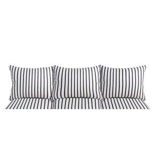 Mercury Row Indoor/Outdoor Sunbrella Sofa Cushion (Set of 6)