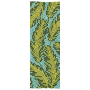 Navarre Handmade Green Indoor/Outdoor Area Rug