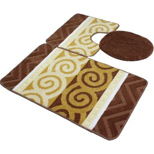 Beaudry Bath Rug Set (Set of 3)